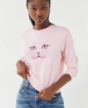 Future State Cat Face Sweatshirt