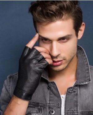 Genuine-Leather-Half-Finger-Gloves-Men-Summer-Breathable-Driving-Gloves-RO-2378-20-(1)
