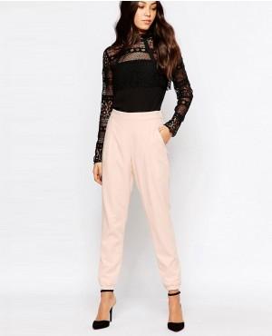 Girls Babe Pink Jogger Pant