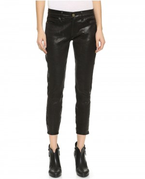 Girls Leather Pant