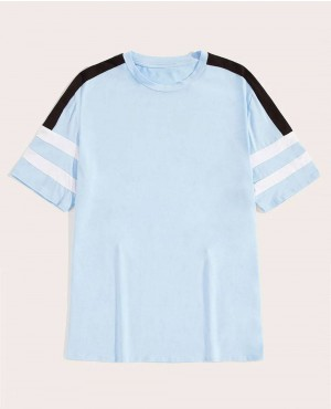 Guys Cut And Sew Short Sleeve T Shirt