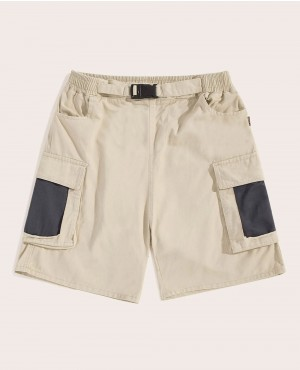 Guys Pocket Panel Cargo Shorts