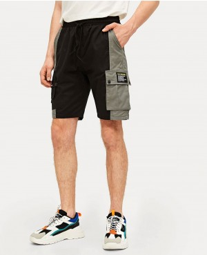 Guys Pocket Side Cargo Shorts