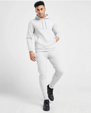 Gym Fitting Overhead Fleece Hoodies Tracksuit