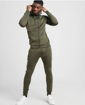 Gym Slim Fit Zipper Sweatsuits