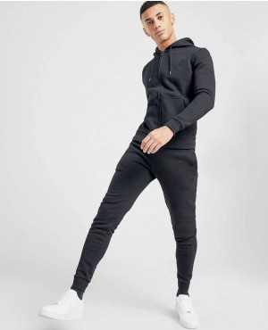 Gym Zip Through Poly Tracksuit