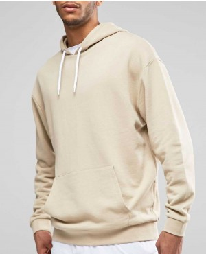 Half White Pullover Hoodie