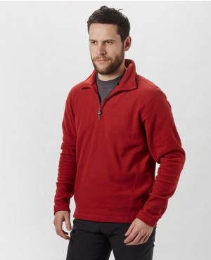 Half Zip Collar Fleece Jacket