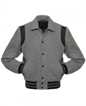 High Quality Lettermen Wool & Leather Varsity