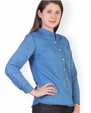High Quality Women Denim Shirts