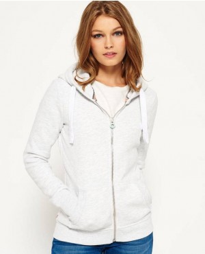 High Quality Women Zipper Up Hoodie