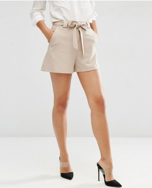 High Waist Short with Belt