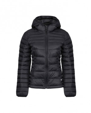 Hot Selling Quilted Padded Puffer Hooded Jacket