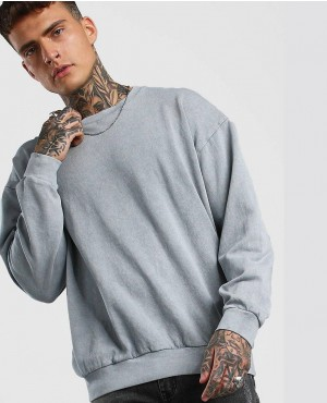 Hot Selling Wholesale Light Grey Oversized Sweatshirt