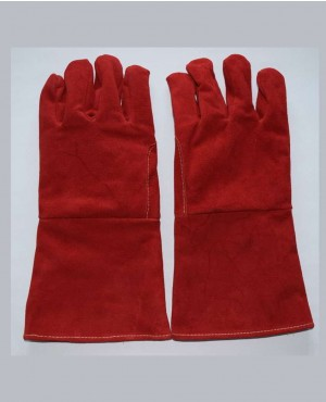 Insulated Welders Work Soft Cowhide Leather Gloves
