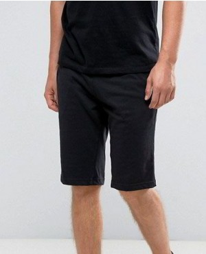 Jersey Shorts In Black