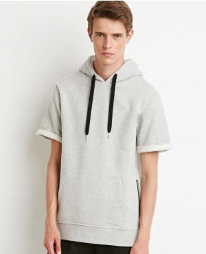 Kanye West Short Sleeves Stylish Hoodie