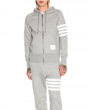Ladies Sweatsuit with Stripes