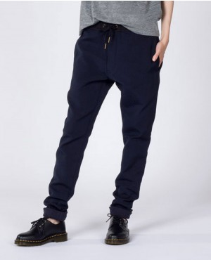 Ladies Trendy Navy Blue Sweatpant