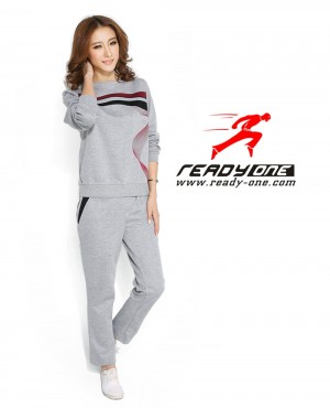 Ladies Two Colored Stylish Tracksuit