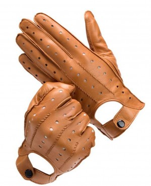 Leather Soft Driving Gloves Style Top Quality Comfort Leather Gloves