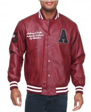 Leather Varsity Custom Branded Jacket
