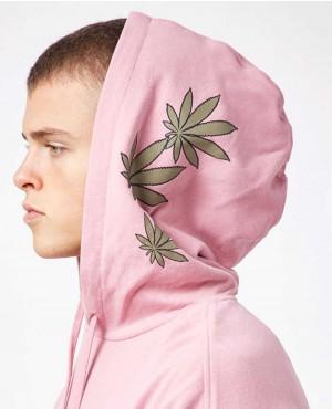 Light Pink Lightweight Pullover Hoodie