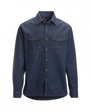 Long Sleeves Custom Denim Stylish Shirts