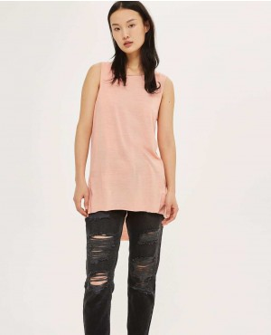 Long Wear Pink Wash Tank Top