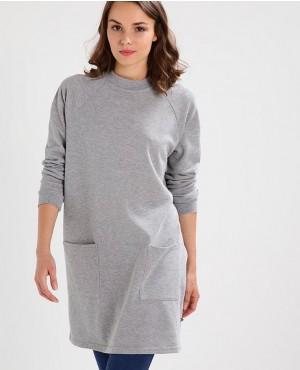 Longline-Light-Grey-Women-Pockets-Sweatshirt-RO-3016-20-(1)