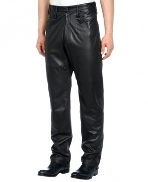 Loose Fit Leather Custom Pant