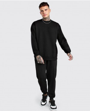 Loose Fit Sweater Tracksuit