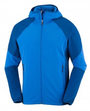 Men Softshell Hoodie Jacket