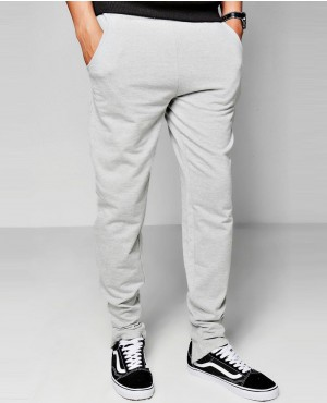 Men Back Zipper Joggers