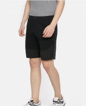 Men Black Evostripe Lite Regular Fit Sports Shorts