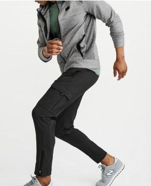 Men Black Style joggers