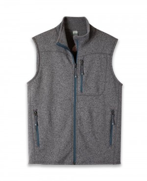 Men Custom Fleece Vest