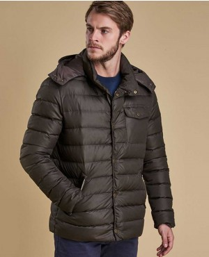 Men Custom Padded Jacket