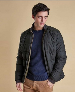 Men Custom Padded Puffer Jacket