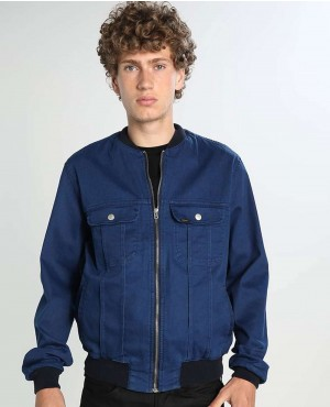 Men Denim Jacket Caribbean Sky
