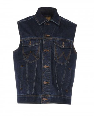 Men Denim Jeans Vest