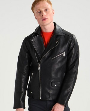 Men Fashion Leather Motorcycle Jackets for Men