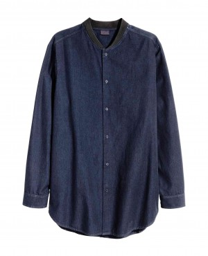 Men Fashionable Denim Shirt