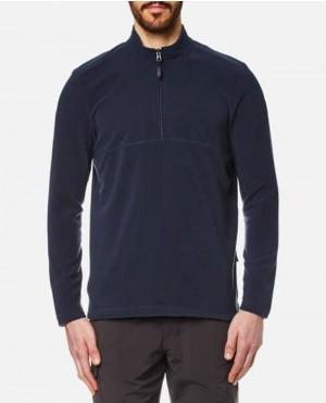 Men Fleece Jumper Night Blue Sweatshirt