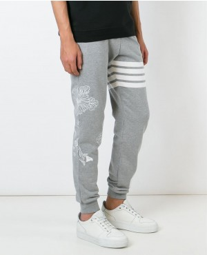 Men Grey Fashionable Summer Jogger Pant