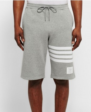 Men Grey Fashionable Summer Short