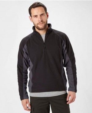 Men Half Zip Micro Fleece