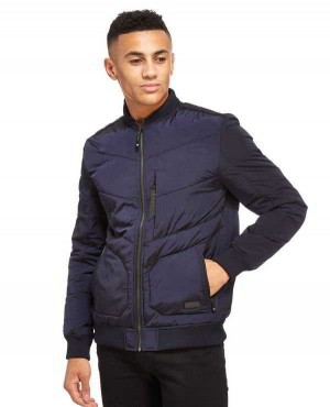 Men High Quality Quilted Varsity Jacket