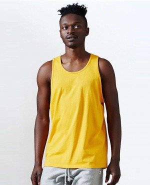 Men High Quality Gold Tank Top