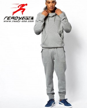 Men Hooded Jogging Sweatsuit